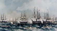 Battle of Hatteras Inlet Batteries or the Battle of Forts Hatteras and Clark