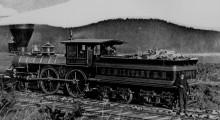 A U.S. Military Railroads Engine